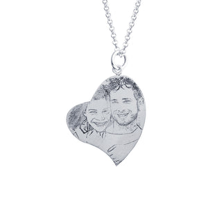 Heart Photo Necklace