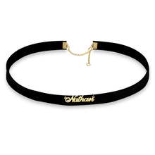 Load image into Gallery viewer, Name Choker Necklace