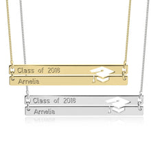 Load image into Gallery viewer, Personalized Graduation Necklace