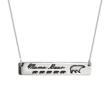 Load image into Gallery viewer, Personalized Mama Bear Necklace
