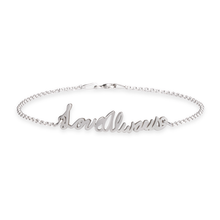 Load image into Gallery viewer, Personalized Signature Bracelet