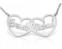 Load image into Gallery viewer, Lovers Heart Name Necklace