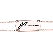 Load image into Gallery viewer, Signature Bar Bracelet