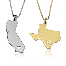 Load image into Gallery viewer, State Necklace - (U.S. 50 States)