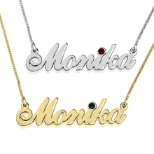 Load image into Gallery viewer, Swarovski Classic Name Necklace