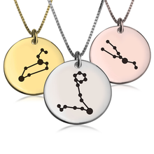 Load image into Gallery viewer, Zodiac Constellation Necklace