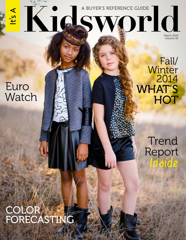 Alivia Simone Featured on the Cover of Kidsworld Magazine
