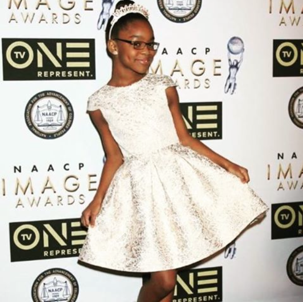 Marsai Martin of TV Show Blackish