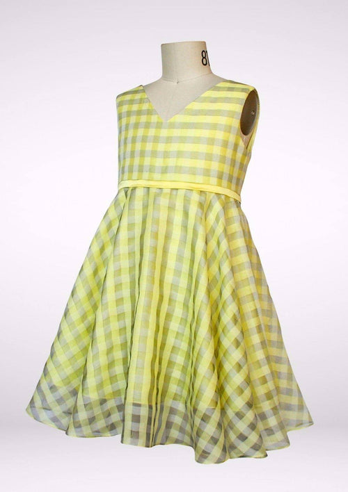 Dress - Chloe Plaid Party Dress