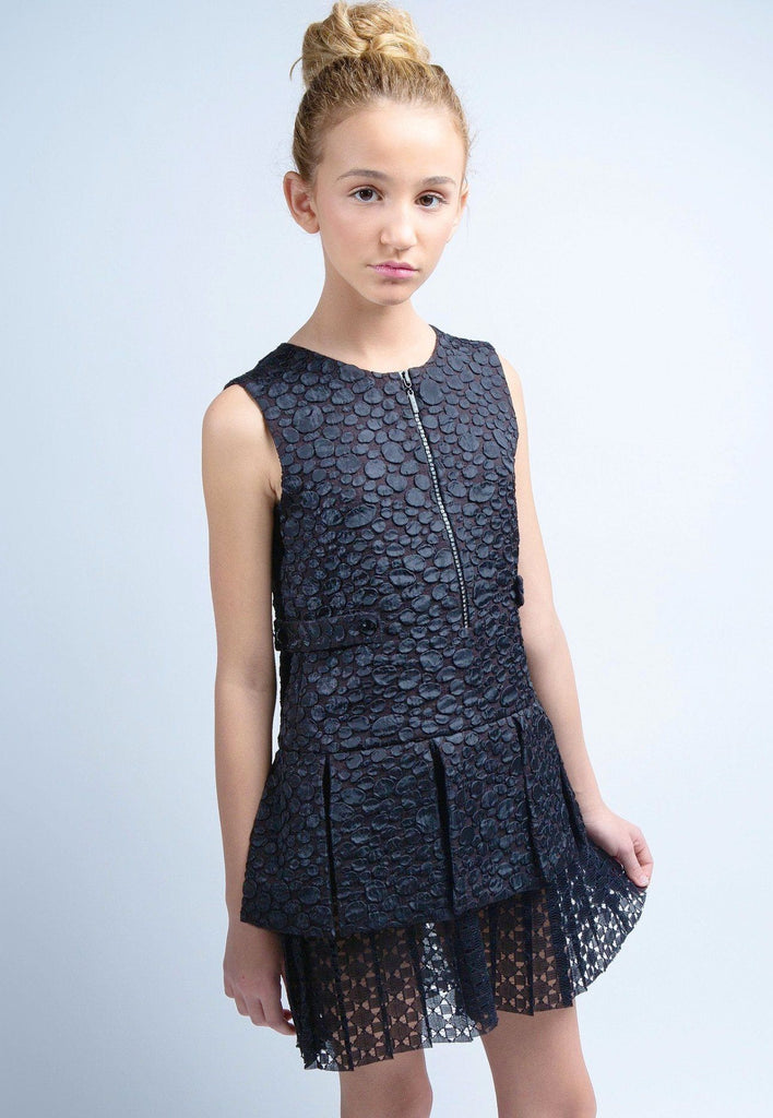 Lawrence Jacquard Dress - Alivia Simone - 3