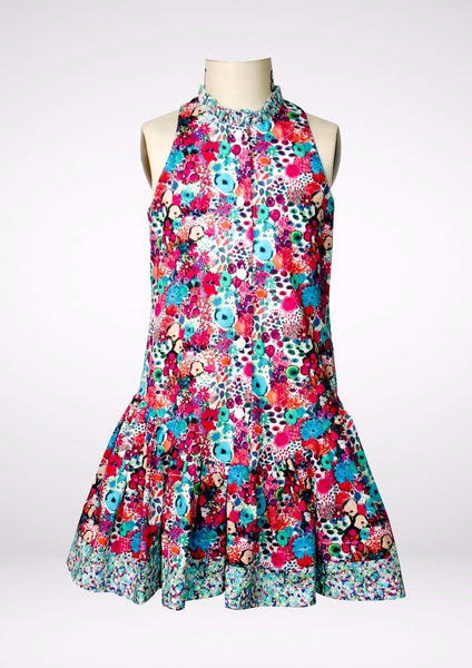 Dress - Little Blooms Flounce Dress