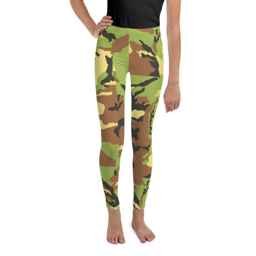 Leggings - Green Camouflage Leggings