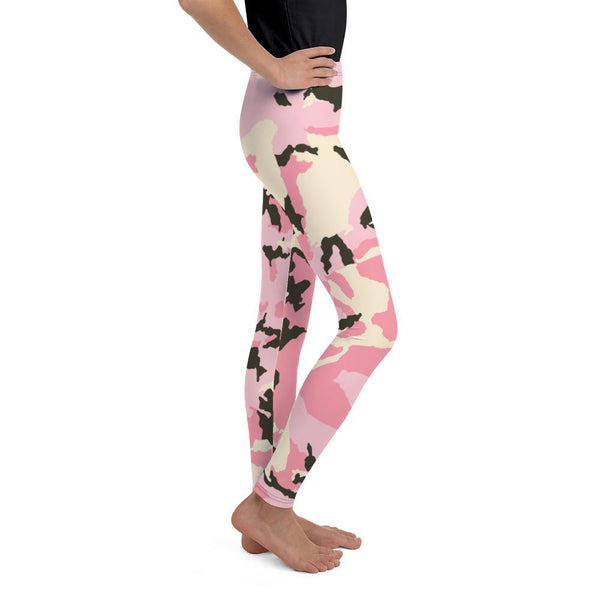 Leggings - Pink Camouflage Leggings