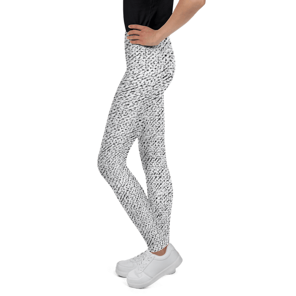 Leggings - Tweed Effect Leggings