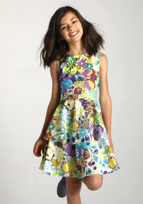 Sale Dress - Summer Bloom Tiered Dress