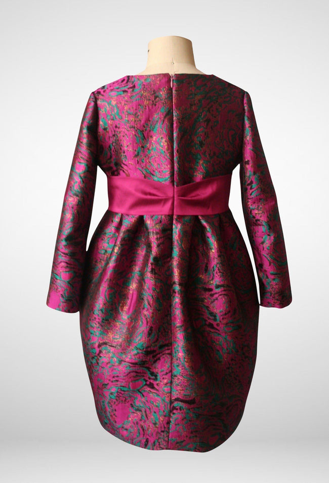 Special Occasion - Simona Long Sleeve Tulip Dress