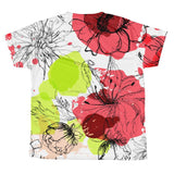 T-shirt - Allover Floral Print T-shirt