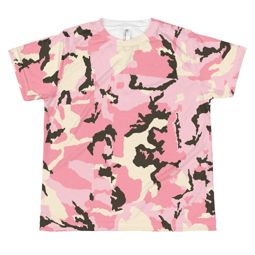 T-shirt - Allover Pink Camouflage T-shirt