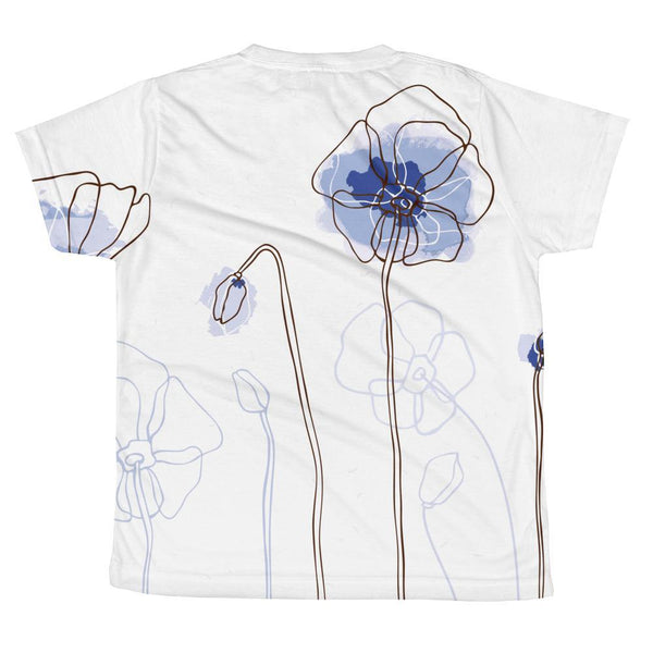 T-shirt - Blue Blooms T-shirt