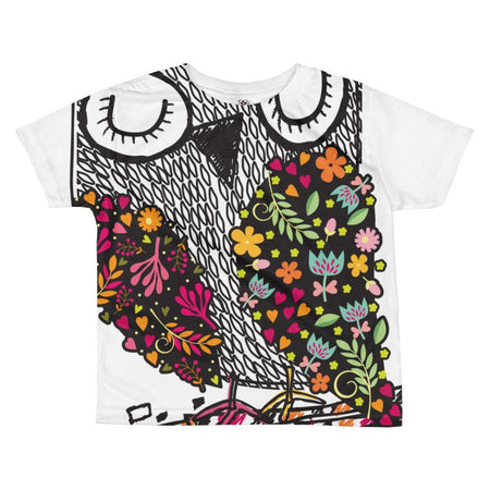 I'm Owl over you T-shirt - Pink