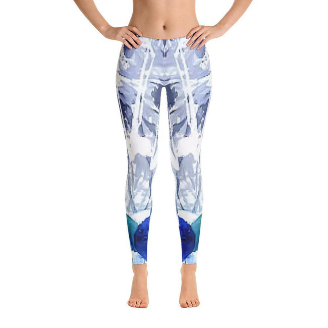 Womens - Women's Allover Abstract Print Leggings