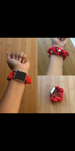 Load image into Gallery viewer, Smart Watch Scrunchie band