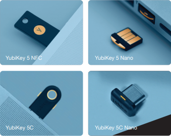 YubiKey 5 Series: Security Key with Multiple Protocol Support