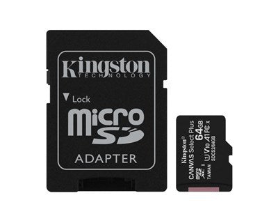 Kingston Canvas Select Plus 64GB mikroSDXC UHS-I minneskort