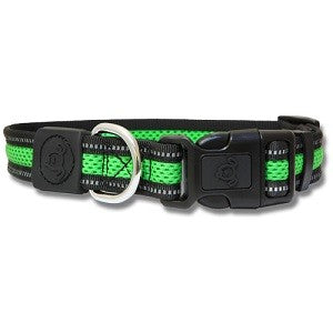 BB DOG COLLAR REFLECTIVE MESH SMALL