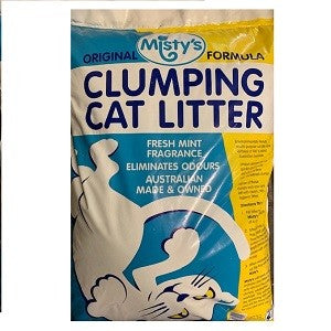 MISTYS CLUMPING CAT LITTER 20LTS