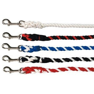 LEAD ROPE POLY COTTON 7'