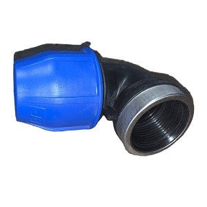 THREADED ELBOW FEM BLUE LINE
