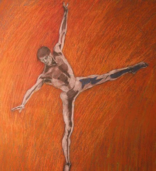 Nijinsky in Orange