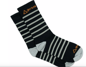 STZ Branded Striped Socks