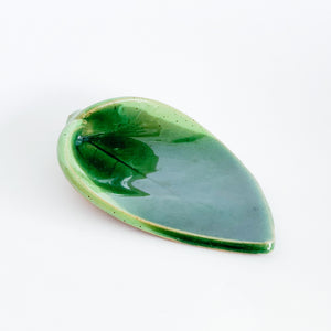Multi-Green Ceramic Spoon Rest