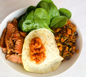 Grilled Steak Breakfast Bowl