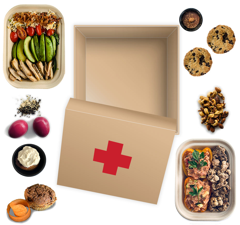 First Aid Meal Box