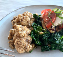 Load image into Gallery viewer, Italian Chicken with Umami Roasted Cauliflower