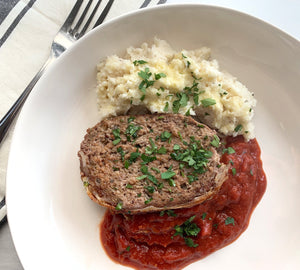 Family-Sized Meatloaf Dinner