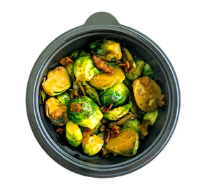 Bacon Sauteed Brussels Sprouts