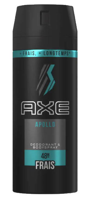 Axe Body spray (Apollo) 48h - Cosmetique.sn