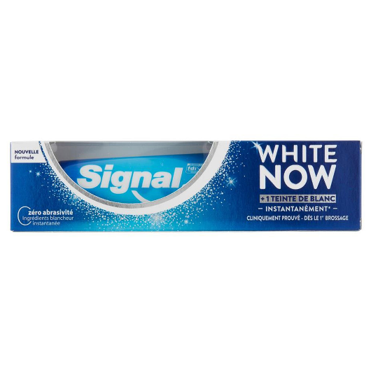 Dentifrice signal White Now - Blancheur instantané - 75ml