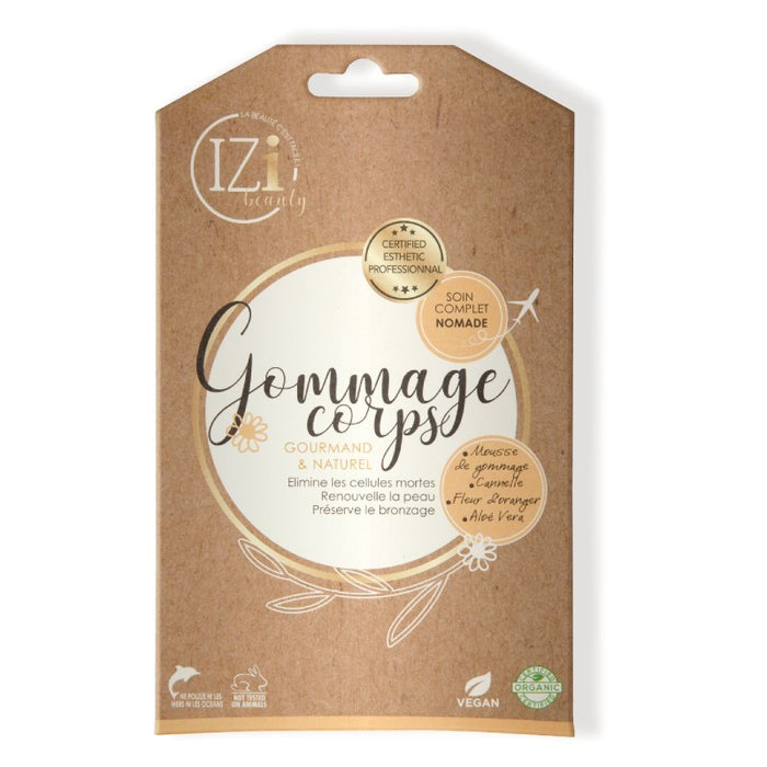 Gommage corps écorce d'orange iziBeauty - Monodose