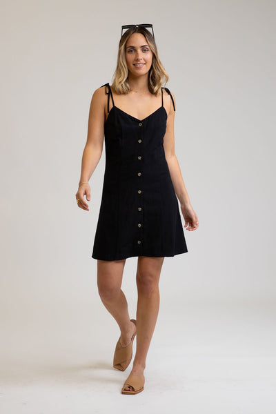 Sorrento Dress Black