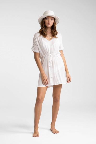 Sunrise Beach Dress White