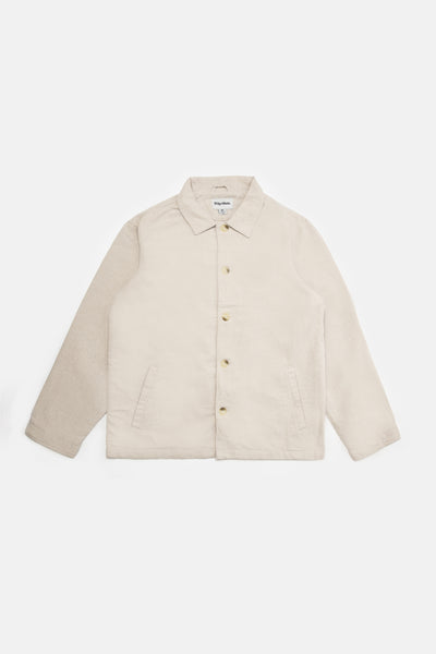 Linen Coach's Jacket Natural