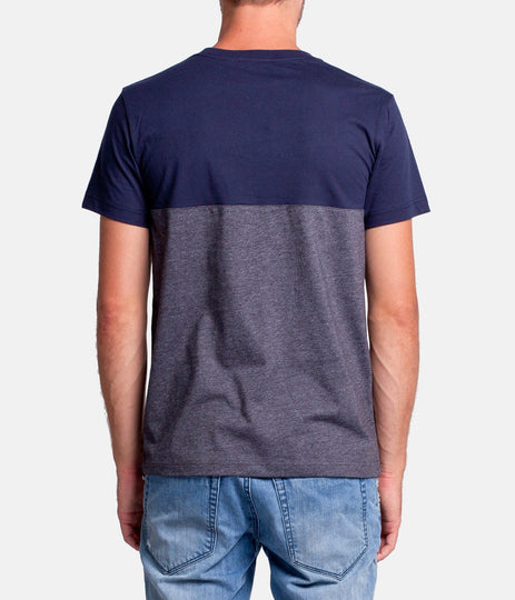 ABODE T-SHIRT NAVY