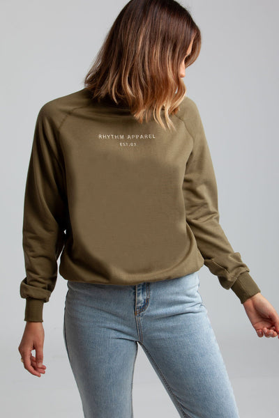 All Day Pullover Olive