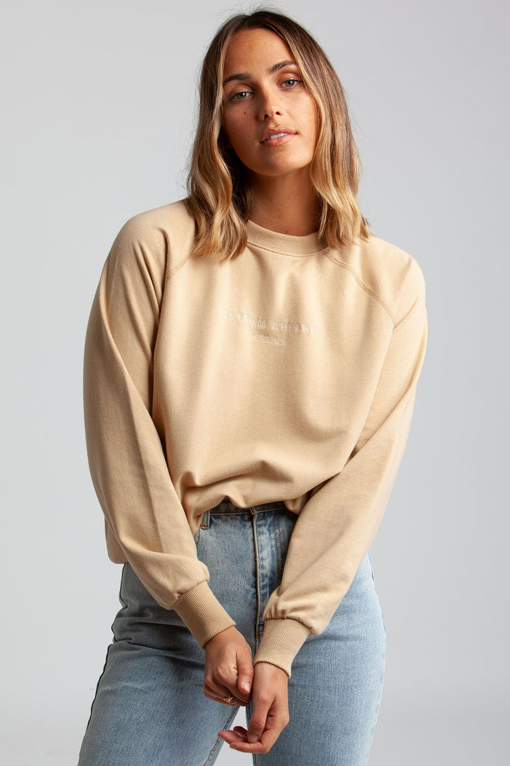 All Day Pullover Sand