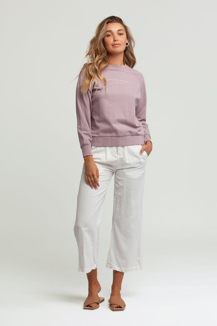 All Day Pullover Lilac